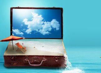 walizka na wakacje